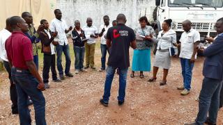 MSU training in DRC