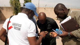 humanitarian coordination, logistics training
