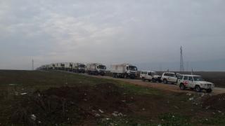 Humanitarian Convoy Syria Madaya WFP/Mohamad Bakkar