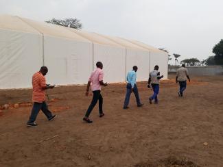 Humanitarian Logistics in DRC