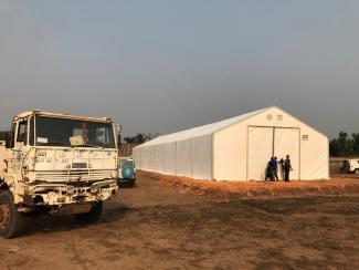 Humanitarian logistics coordination in DRC