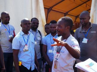 Lemi John, Logistics Cluster South Sudan