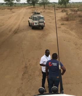 Humanitarian Cargo Transportation in South Sudan