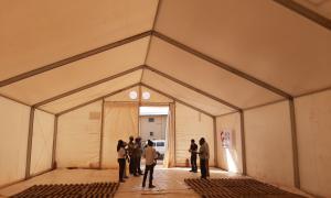 Media Image : MSU available for partners in Kaya, Burkina Faso