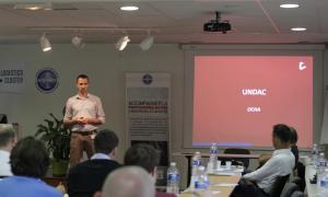 Media Image : Lucien Jaggi presents UNDAC