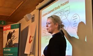 Media Image : Presentation on Logistics Cluster Lessons Learned